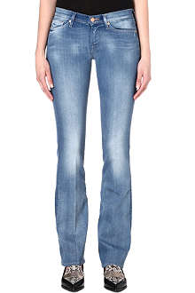 7 FOR ALL MANKIND Bootcut low-rise jeans