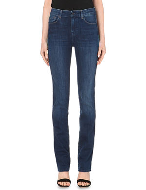 7 FOR ALL MANKIND Vintage straight high-rise jeans