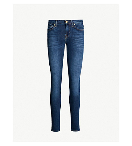 7 FOR ALL MANKIND Bair super-skinny mid-rise jeans (Duchess