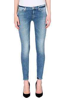 7 FOR ALL MANKIND Slim Illusion skinny mid-rise jeans