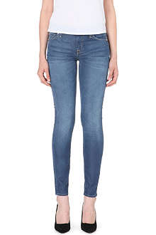 7 FOR ALL MANKIND The Skinny mid-rise stretch-denim jeans