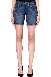 7 FOR ALL MANKIND Turn-up denim shorts