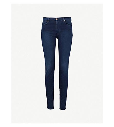 7 FOR ALL MANKIND Slim Illusion super-skinny high-rise jeans (Slim+illusion+luxe