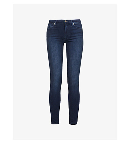 7 FOR ALL MANKIND Slim Illusion super-skinny high-rise jeans (Slim+illusion+luxe