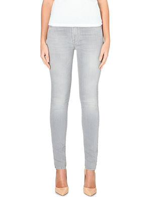 7 FOR ALL MANKIND Slim Illusion skinny high-rise stretch-denim jeans