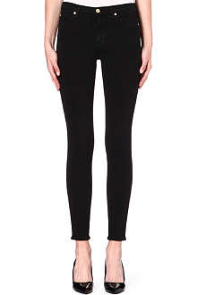 7 FOR ALL MANKIND Skinny high-rise jeans