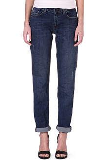 VICTORIA BECKHAM DENIM Boyfriend mid-rise jeans