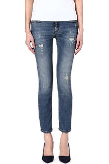 VICTORIA BECKHAM DENIM VB2 skinny mid-rise jeans