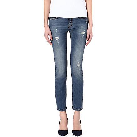 VICTORIA BECKHAM DENIM VB2 skinny mid-rise jeans (Kept