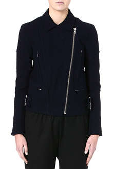 VICTORIA BECKHAM Joan cotton biker jacket