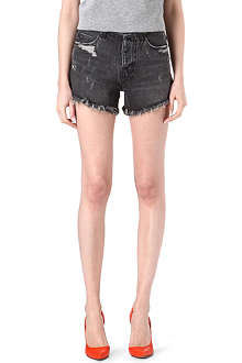 KSUBI Vegas cut-off denim shorts
