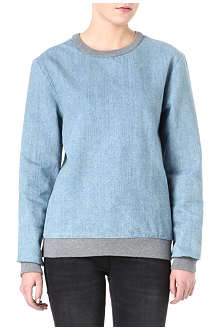 KSUBI Denim sweatshirt