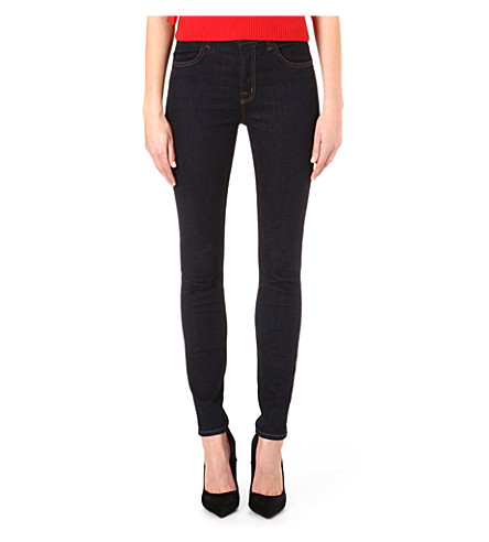 J BRAND 23110 Maria high-rise skinny jeans (Blue