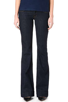 J BRAND 722 Love Story flared low-rise jeans