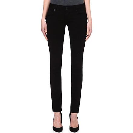 HUDSON JEANS Collin signature skinny jeans (Black