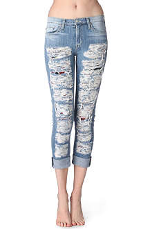 HUDSON JEANS Courtney Anti-Establishment skinny mid-rise jeans