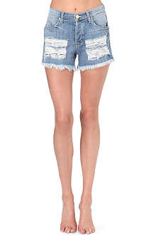 HUDSON JEANS Libertine denim shorts