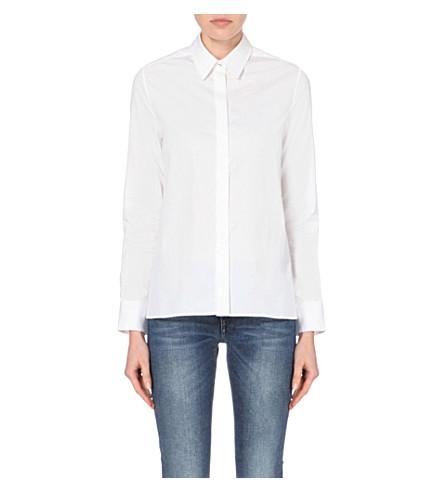VICTORIA VICTORIA BECKHAM Classic cotton shirt (White