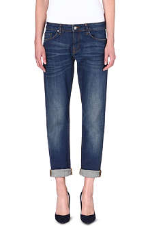 VICTORIA BECKHAM DENIM Slim-fit boyfriend jeans
