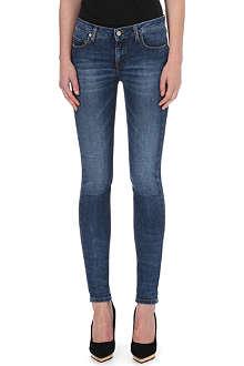 VICTORIA BECKHAM DENIM Skinny mid-rise jeans