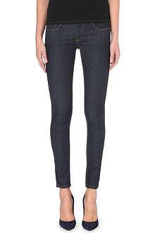 VICTORIA BECKHAM DENIM VB1 super-skinny mid-rise jeans