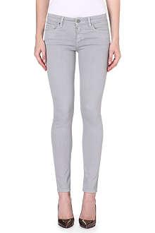 VICTORIA BECKHAM DENIM Power Skinny mid-rise jeans