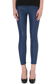 VICTORIA BECKHAM DENIM Leather leggings