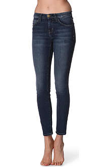 CURRENT/ELLIOTT Skinny high-rise jeans