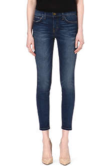 CURRENT/ELLIOTT The Stiletto Townie skinny mid-rise jeans