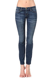 CURRENT/ELLIOTT The Ankle Skinny Loved skinny mid-rise jeans