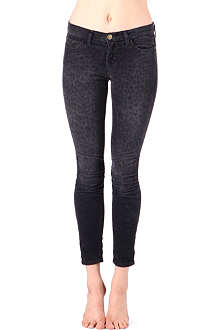 CURRENT/ELLIOTT The Ankle Skinny mid-rise jeans
