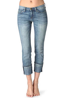 CURRENT/ELLIOTT Beatnik skinny mid-rise jeans