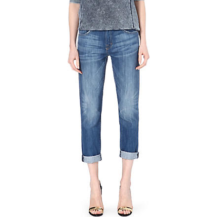 CURRENT/ELLIOTT The Fling slim boyfriend mid-rise jeans (Cambridge