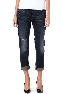 CURRENT/ELLIOTT The Fling slim boyfriend low-rise jeans