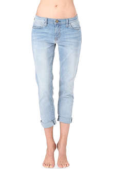 CURRENT/ELLIOTT The Fling slim boyfriend mid-rise jeans