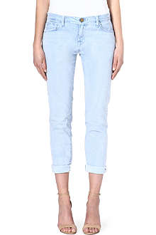 CURRENT/ELLIOTT The Fling boyfriend mid-rise jeans