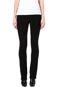 CURRENT/ELLIOTT The Slim Boot mid-rise jeans