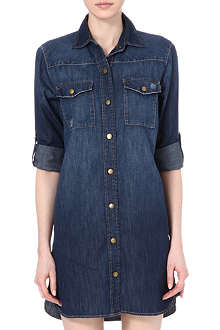 CURRENT/ELLIOTT The Lily denim dress
