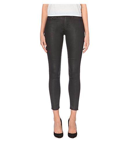 ACNE Skin 5 coated skinny mid-rise jeans (Mamba