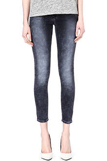 ACNE Bleached stetch-denim jeans