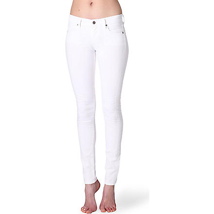 CITIZENS OF HUMANITY Avedon ultra-skinny low-rise jeans (Santorini