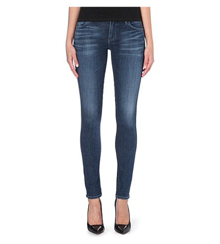 CITIZENS OF HUMANITY Avedon ultra-skinny low-rise jeans (Cruz