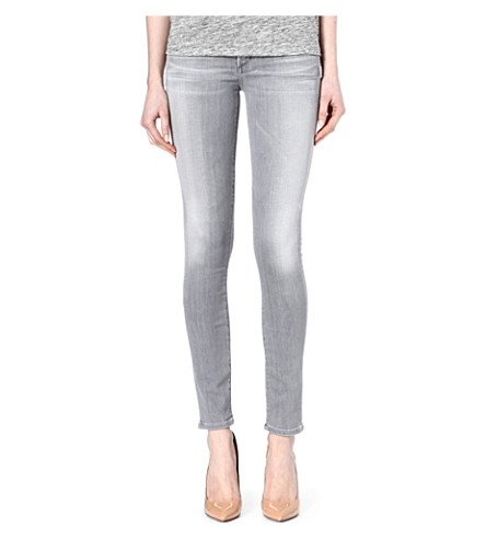 CITIZENS OF HUMANITY Avedon ultra-skinny low-rise jeans (Pretender