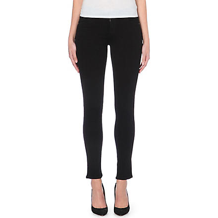 CITIZENS OF HUMANITY Avedon skinny low-rise jeans (Axel