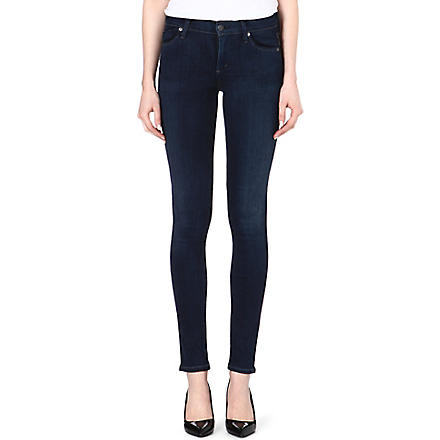 CITIZENS OF HUMANITY Avedon ultra-skinny low-rise jeans (Royal