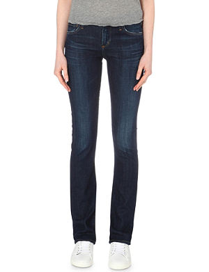 CITIZENS OF HUMANITY Elson straight mid-rise jeans