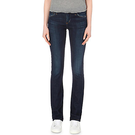 CITIZENS OF HUMANITY Elson straight mid-rise jeans (Element