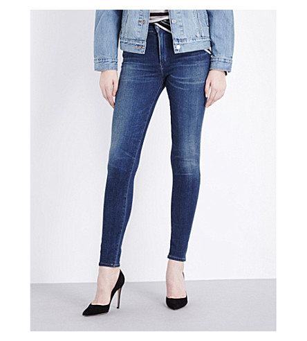 CITIZENS OF HUMANITY Rocket skinny high-rise jeans (Eden