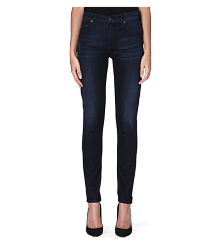 CITIZENS OF HUMANITY Rocket skinny high-rise jeans (Space