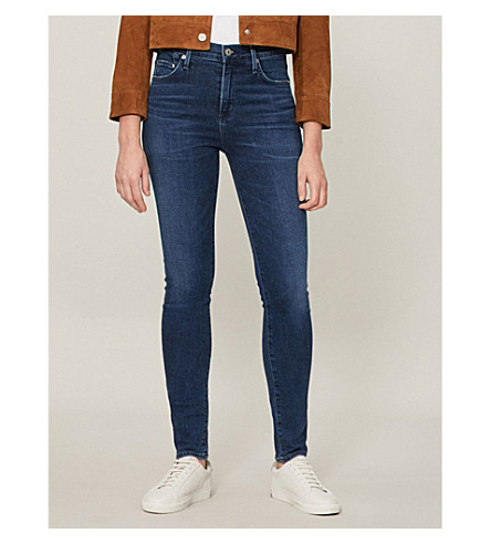 CITIZENS OF HUMANITY Rocket skinny mid-rise jeans (Glory